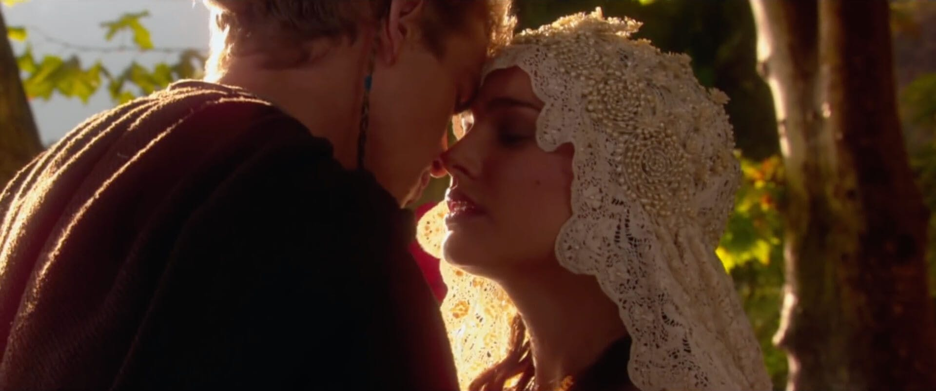 Attack of the Clones - Anakin and Padme star wars movies