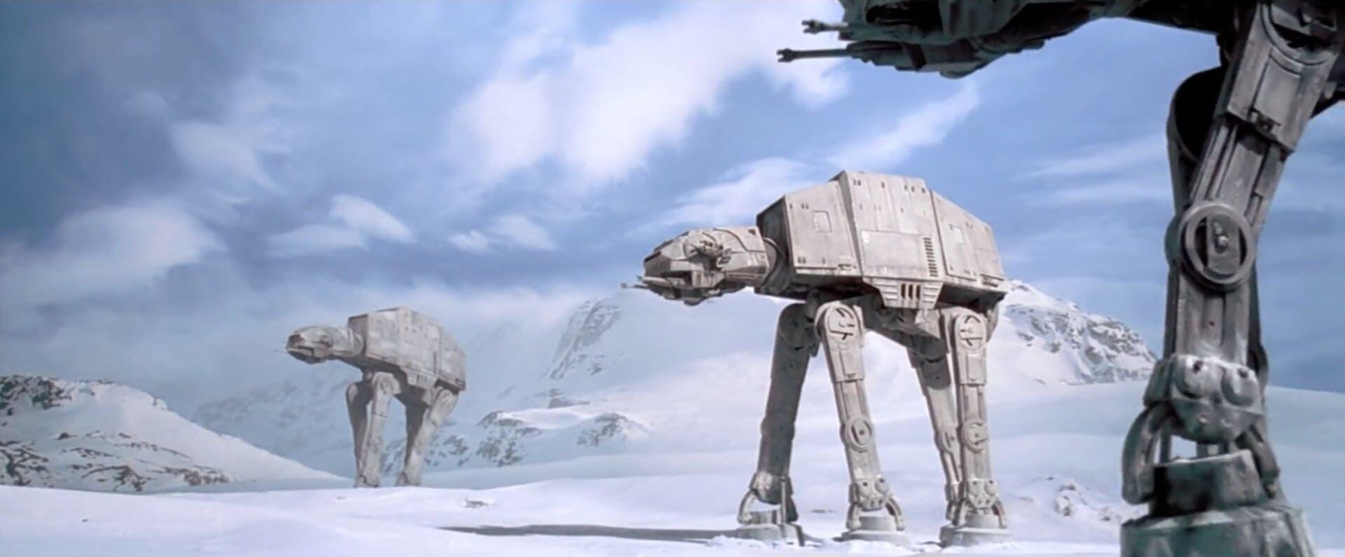 Empire Strikes Back - AT-AT star wars movies
