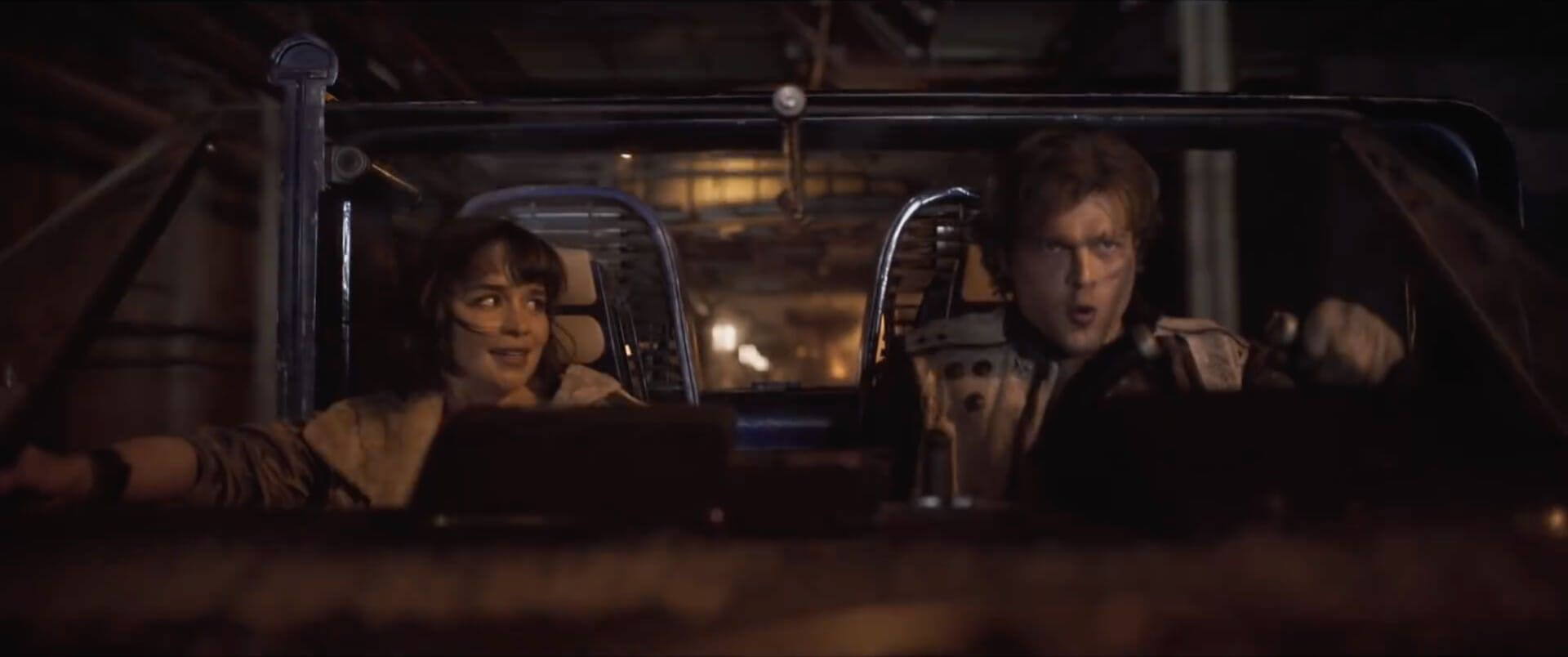 Solo - Han Solo and Qi'ra star wars movies