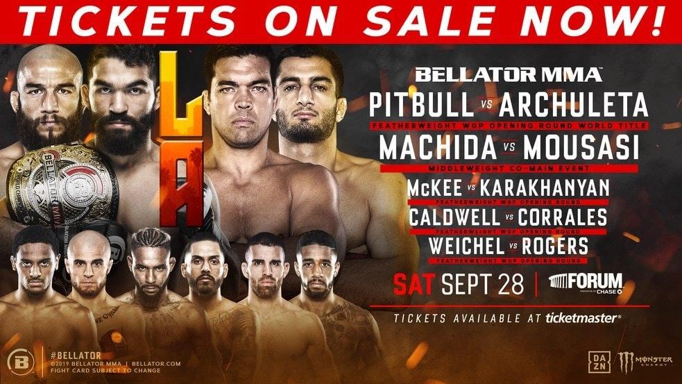 Bellator 227 Pitbull vs Archuleta live stream