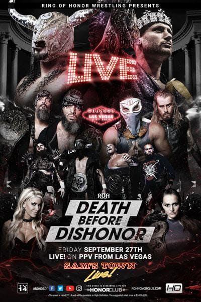 Death Before Dishonor ROH live stream