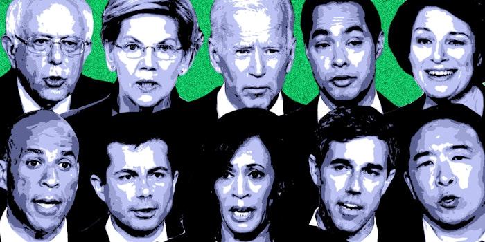 democratic climate change debate candidates