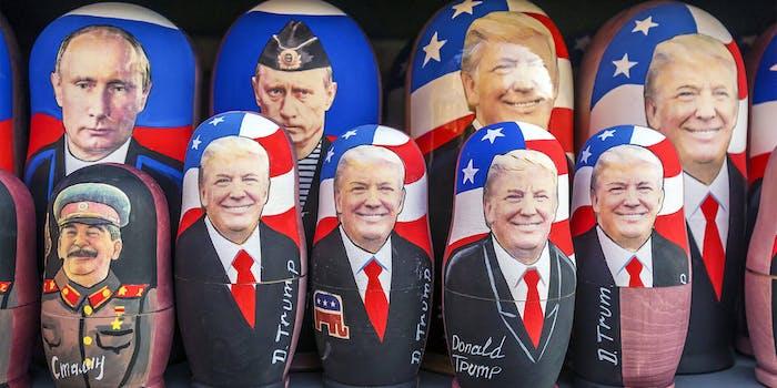 donald trump russian nesting doll