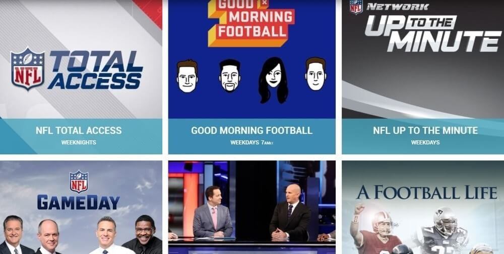 eagles packers NFL Network streaming