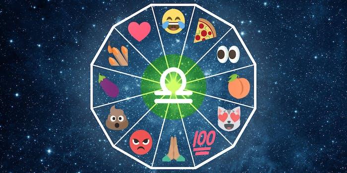emoji horoscope libra