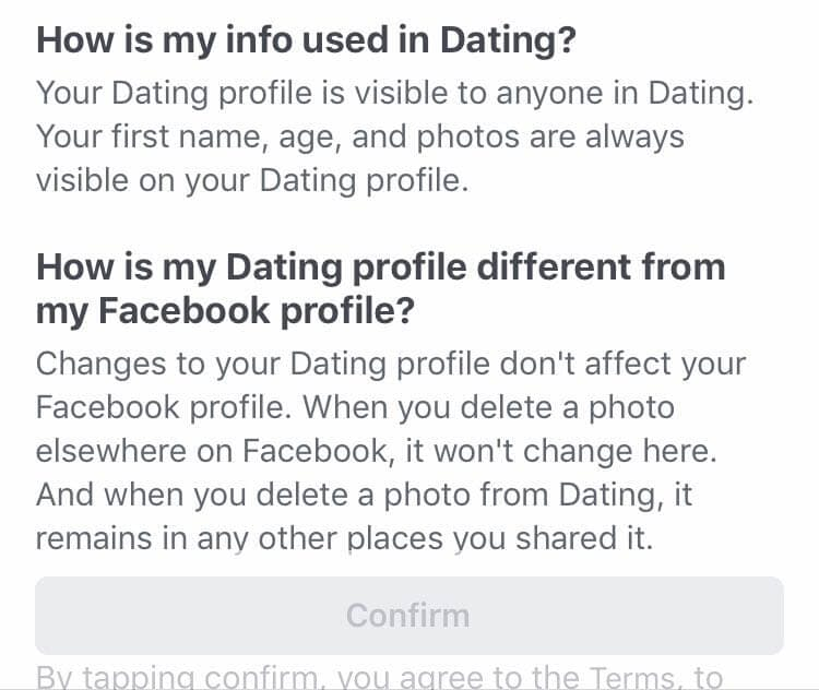 what is facebook dating