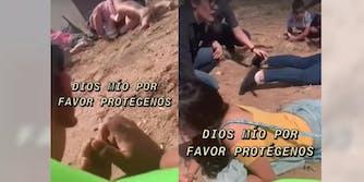 family-takes-cover-texas-shooting