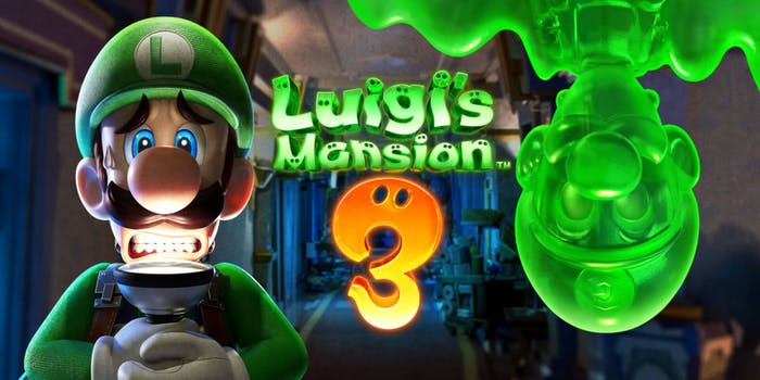new games 2019 luigis mansion