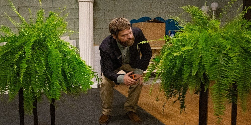 Netflix Between Two Ferns: The Movie review