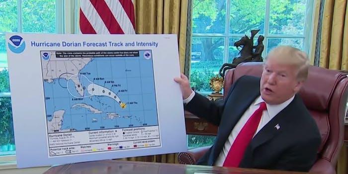 noaa-trump-alabama-hurricane-dorian