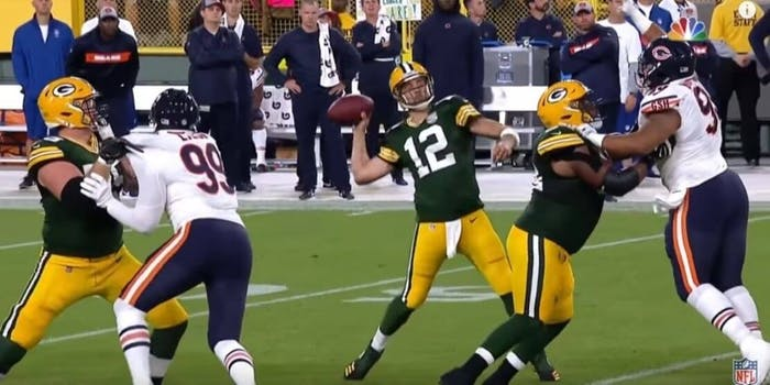 Packers vs Bears NFL live stream Aaron Rodgers