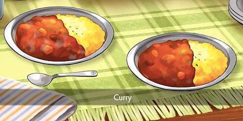 pokemon sword shield curry on rice