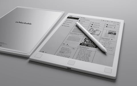 reMarkable smart notebook and marker