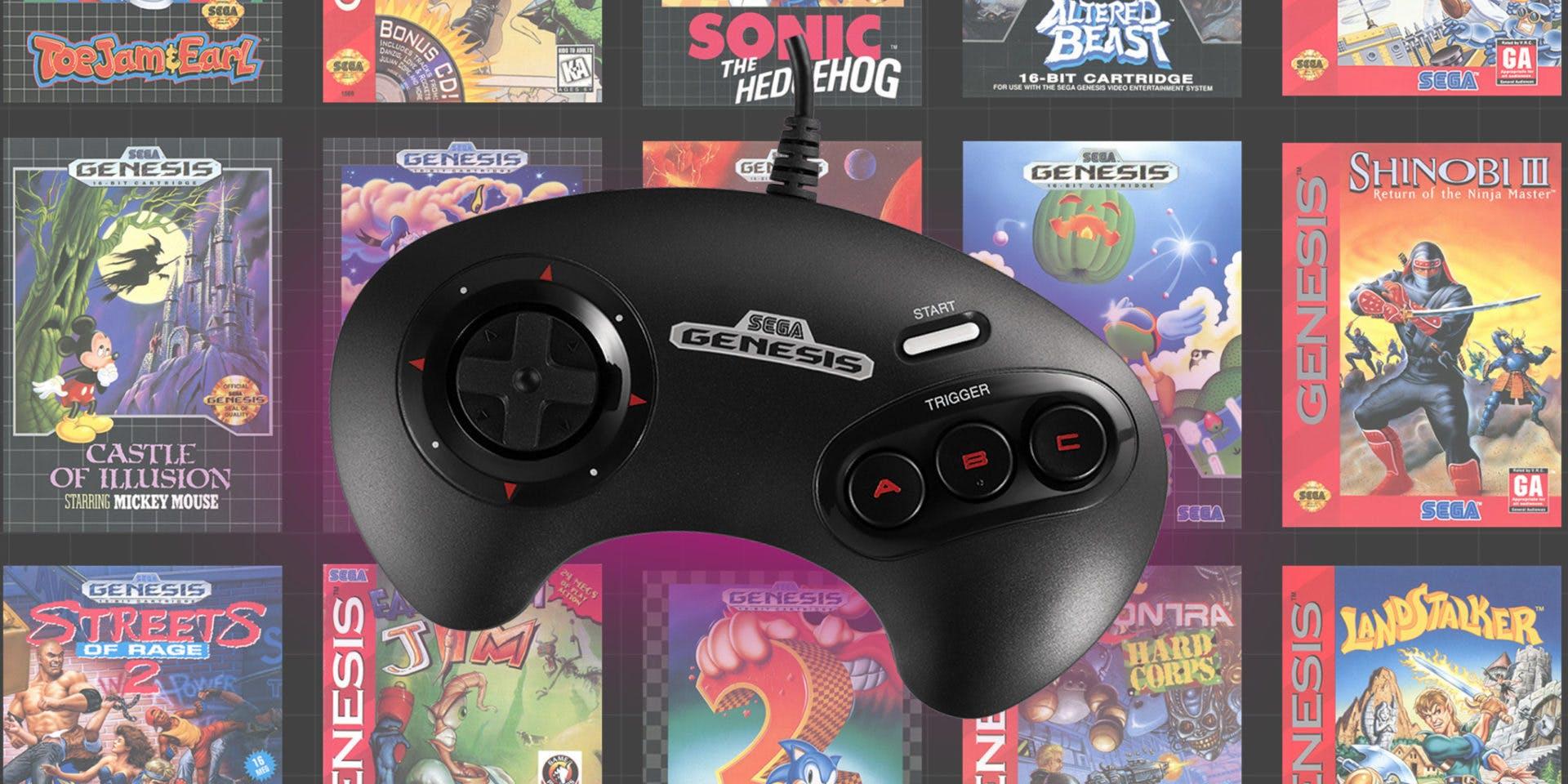 Sega Genesis mini games