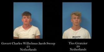 Ties Granzier YouTube Area 51 arrested