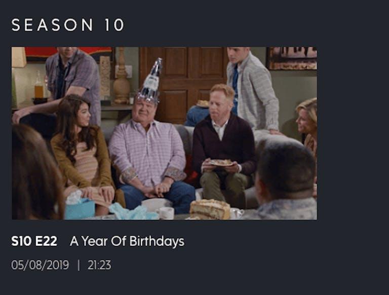 watch modern family season 11 on ABC