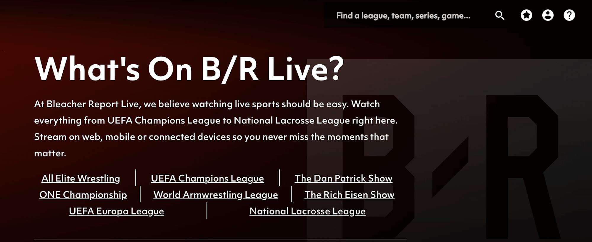 watch Real Madrid vs psg live stream on B/R Live