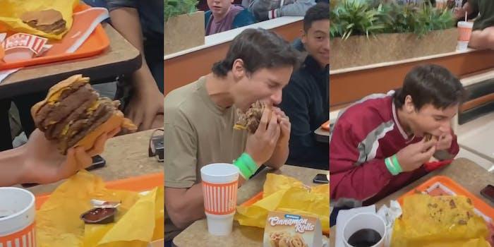 10 patty hamburger