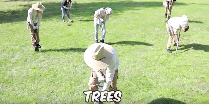 youtubers-20-million-trees