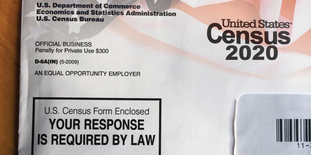 2020 census form - DO NOT REUSE