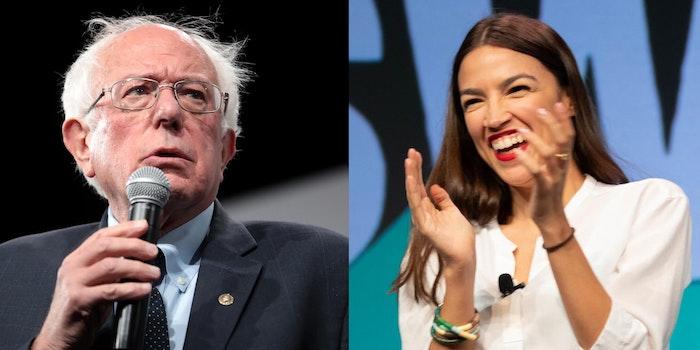 Bernie Sanders Alexandria Ocasio-Cortez Endorsement