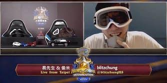 Blitzchung Hearthstone Grandmasters