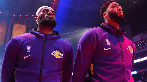 Lakers Clippers streaming lebron davis