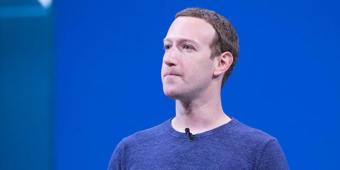 Mark Zuckerberg Conservatives Meetings