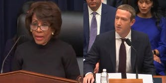Maxine Waters Mark Zuckerberg Libra Hearing Opening Statement
