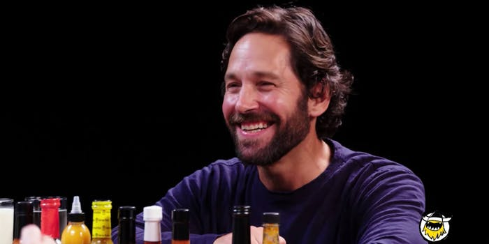 Paul Rudd - Hot Ones