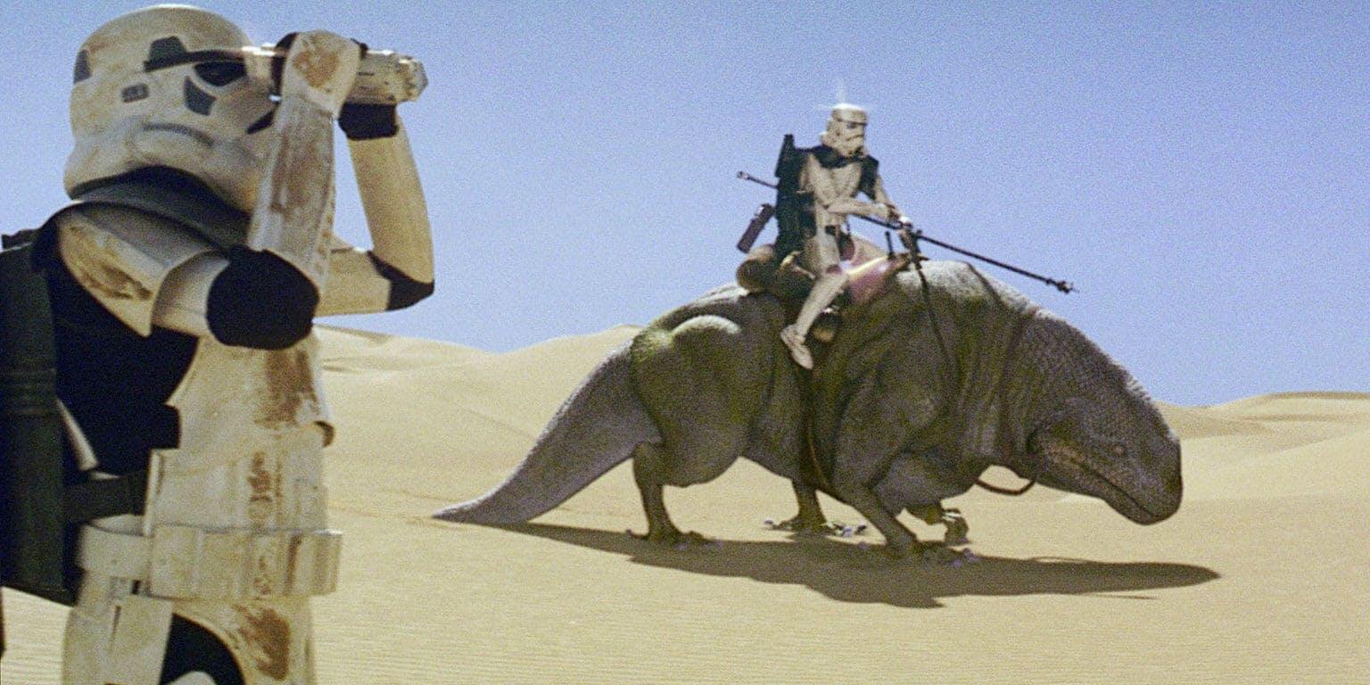 Star Wars creatures - Dewback