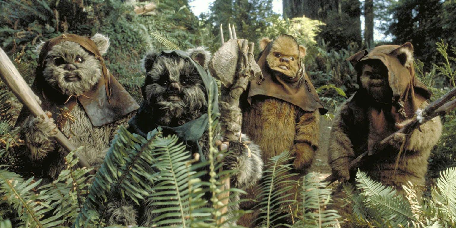 Star Wars creatures - Ewoks