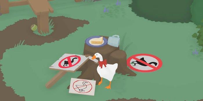 untitled goose game memes
