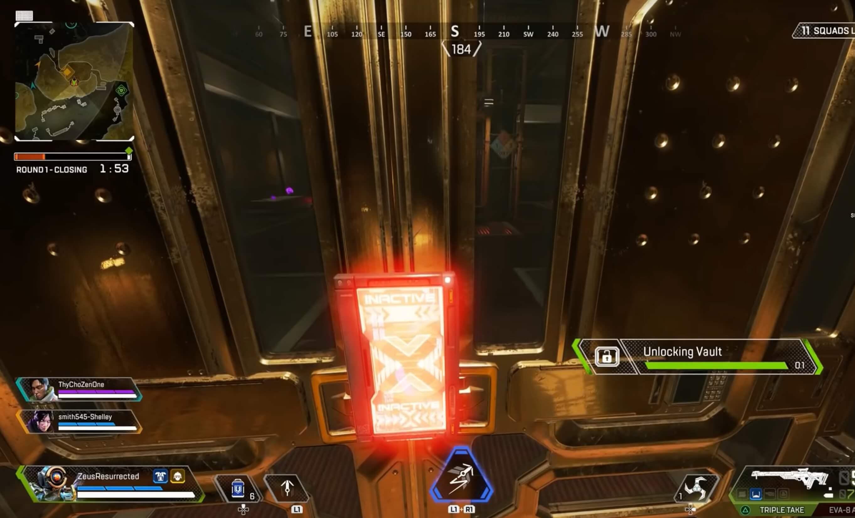 apex legends vaults key