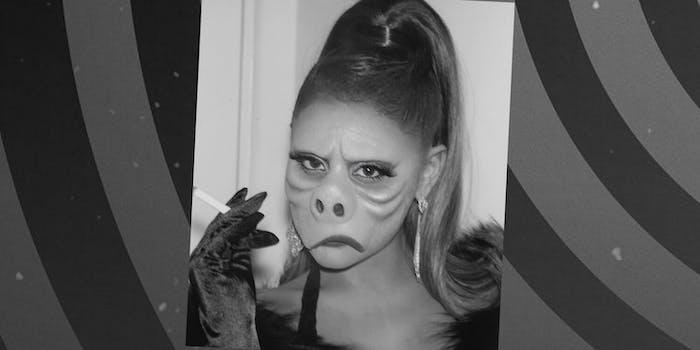 ariana grande twilight zone eye of the beholder