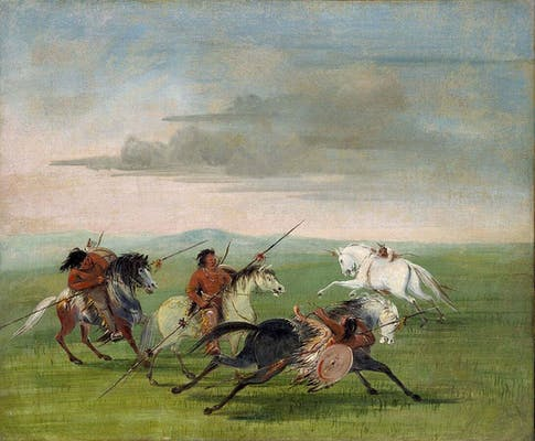 comanche feats horsemanship