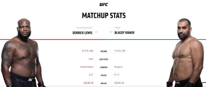 Derrick Lewis vs Blagoy Ivanov live stream UFC 244