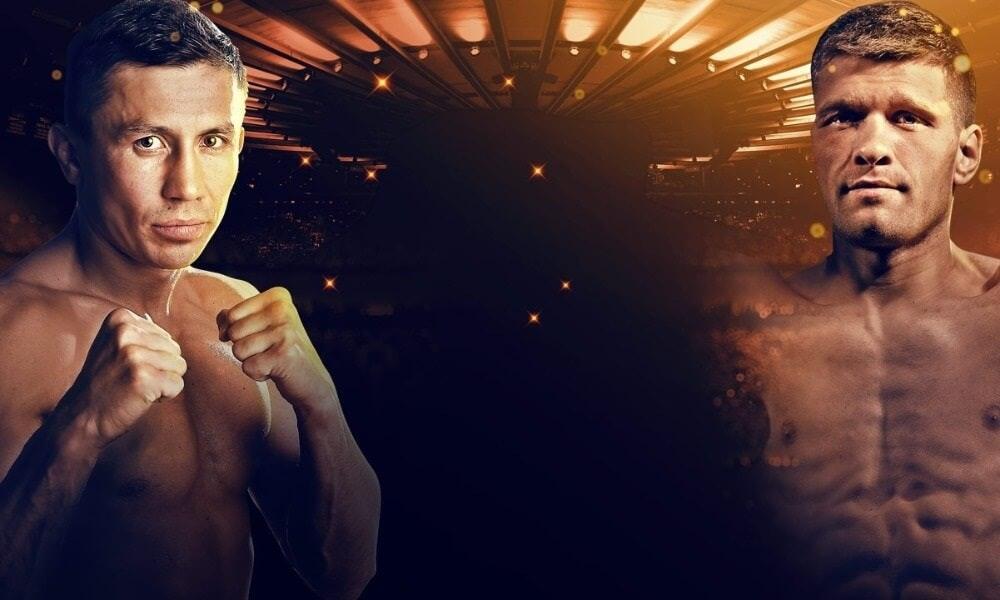 Gennadiy Golovkin vs Sergiy Derevyanchenko live stream