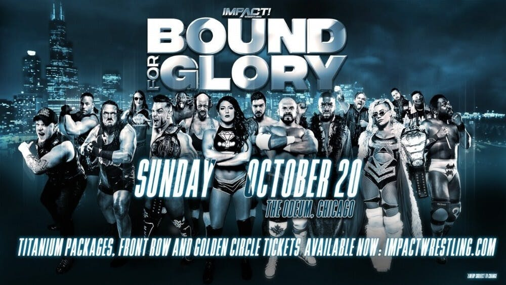 Impact Wrestling Bound For Glory live stream