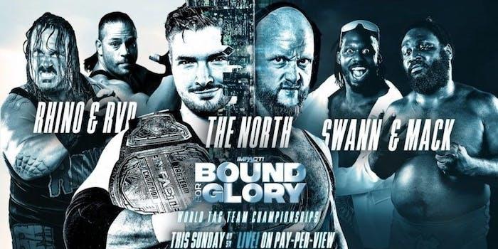 Impact wrestling Bound For Glory RVD Rhino