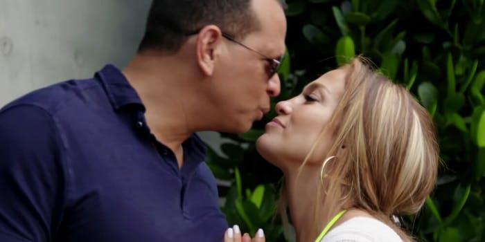 Jennifer Lopez & Aaron Rodriguez