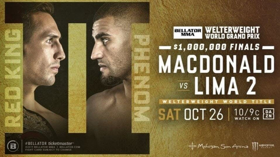 MacDonald vs. Lima live stream DAZN