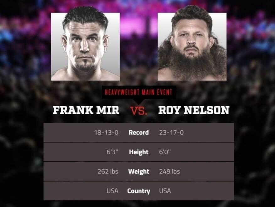Mir vs Nelson live stream Bellator DAZN