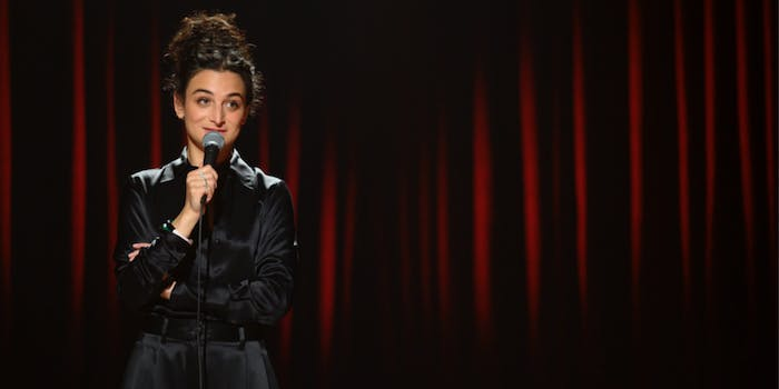 netflix jenny slate stage fright review