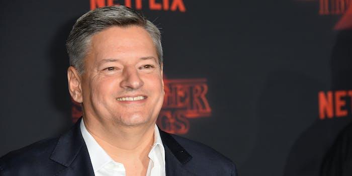 Netflix Ted Sarandos Friends The Office success