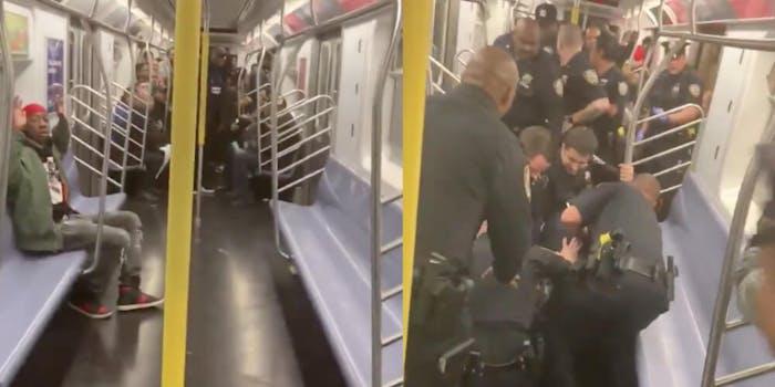 nypd-subway-fare-evasion-arrest