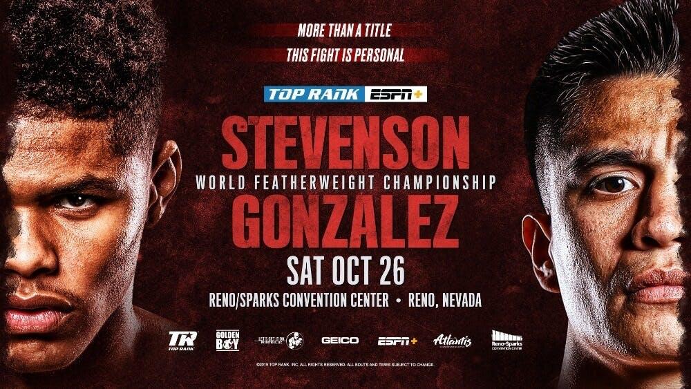 Stevenson vs Gonzalez live stream ESPN+