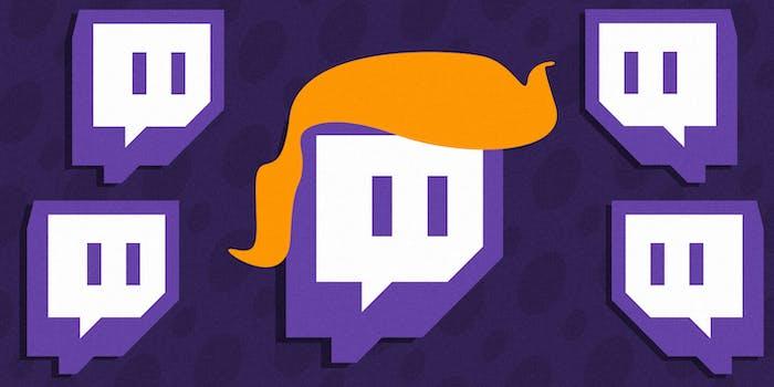 trump twitch