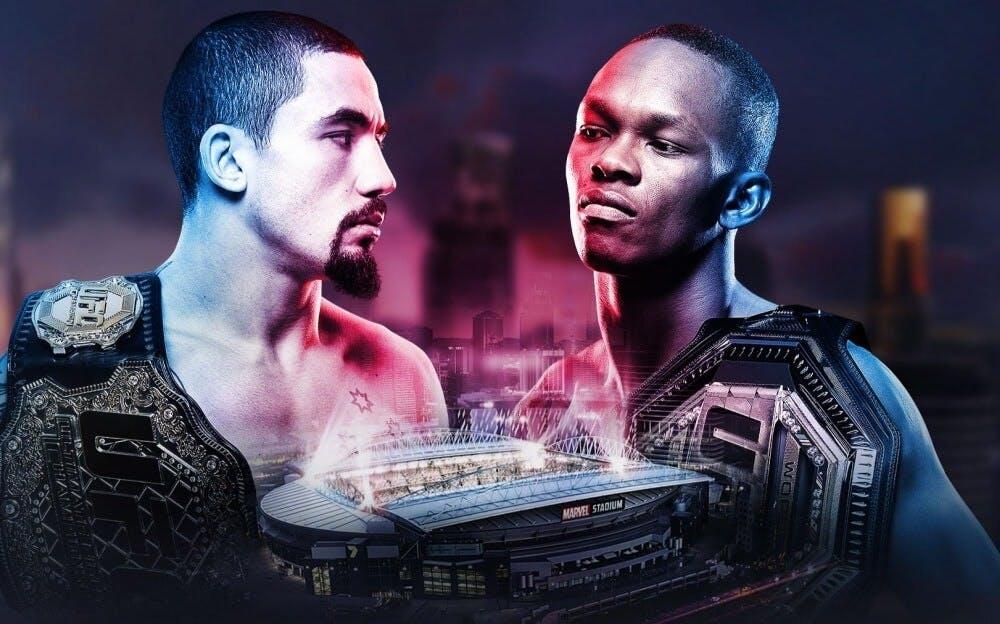 UFC 243 Whittaker vs Adesanya live stream