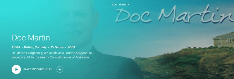 watch doc Martin on Hulu